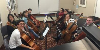 2015 Cornell Cello Ensemble